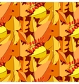 Autumn leaves fall seamless pattern vector image