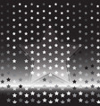 star silver halftone abstract background vector image