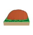 Ayers Rock Australia icon cartoon style vector image vector image
