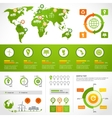 Energy infographics layout template vector image vector image
