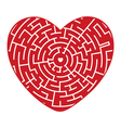 heart of the Labyrinth vector image vector image