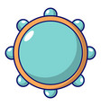 little drums icon cartoon style vector image
