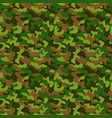 seamless military camouflage pattern seamless vector image vector image