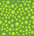 seamless pattern with tennis balls green vector image vector image