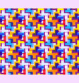 seamless repeating pattern colored abstract vector image vector image