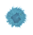 blue blot vector image