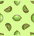 bright lime green seamless pattern vector image