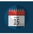 Calendar payday month vector image vector image