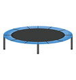 elastic trampoline isolated icon vector image