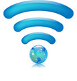 global wifi vector image vector image