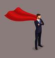 isometric people businessmen and businesswomen vector image vector image