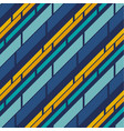 retro style stripe pattern seamless pattern vector image vector image