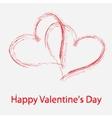 St Valentine days greeting card