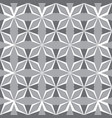 art abstract geometric gray seamless pattern vector image vector image