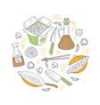 asian food wok menu traditional ingredients