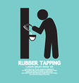 Black Symbol Rubber Tapping