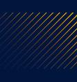 blue diagonal lines pattern background vector image vector image