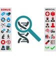 Explore Dna Icon vector image vector image