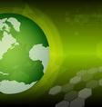 global green technology vector image
