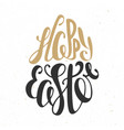 happy easter typography design elements for vector image