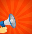 loud voice speaker discount vector image
