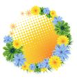 Wildflowers vector image vector image