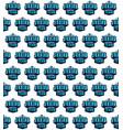 basketball junior team seamless pattern vector image vector image