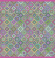 colorful abstract diagonal square mosaic tile vector image vector image