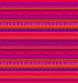 fun and cute childish stripe seamless pattern vector image vector image