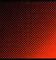 geometric halftone dot pattern background vector image vector image