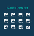 images icon set vector image