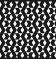abstract black chevrons pattern background vector image vector image