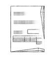 bill page icon vector image vector image