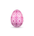 Easter egg 3d icon color egg isolated white