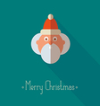 Merry Christmas santa claus vector image vector image