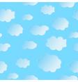 seamless cloud vector image