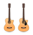 3d realistic classic old retro acoustic vector image