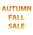 Autumn sale inscription