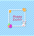 modern banner funny and colorful happy easter vector image vector image