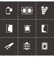 Photo icon set vector image vector image