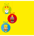 three kings of orient vector image vector image