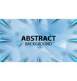 abstract background modern in blue vector image