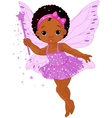Cute little baby fairy vector image vector image