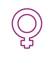 Gender icon Female and Woman design vector image vector image