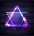 hebrew biblical judaism symbol jewish david star vector image