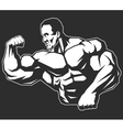 Man of iron vector image vector image