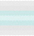pastel chevron pattern wavy line vector image vector image