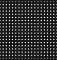 polka dot pattern seamless texture black white vector image vector image