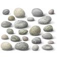 River stones vector image