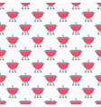 seamless pattern with brazier or grill vector image vector image